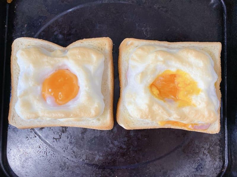 エッグインクラウド 作り方 レシピ